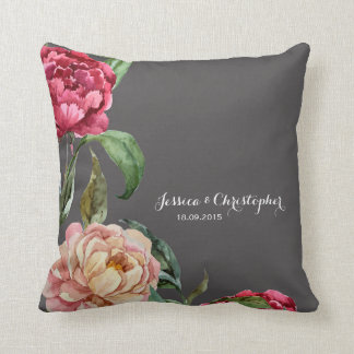 Almofada Travesseiro decorativo personalizado floral boémio