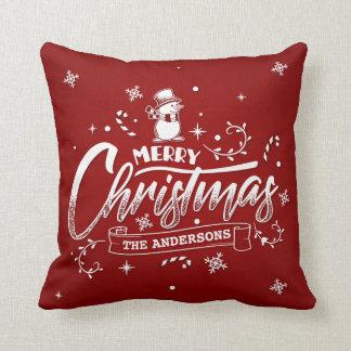 Almofada Travesseiro decorativo personalizado simples do