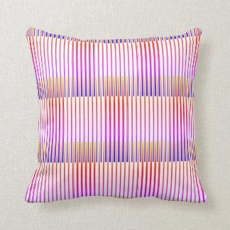 Almofada Travesseiro decorativo Pinstriped da Multi-Cor