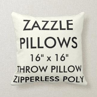 Almofada Travesseiro decorativo poli de Zipperless do