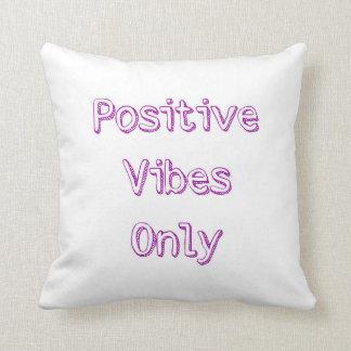 Almofada Travesseiro decorativo positivo das impressões
