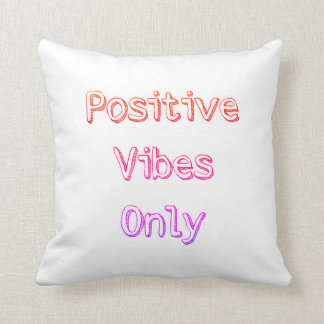 Almofada Travesseiro decorativo positivo das impressões do