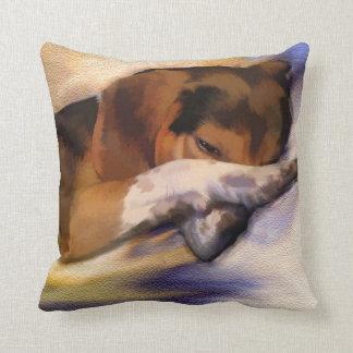 Almofada Travesseiro decorativo preguiçoso do lebreiro