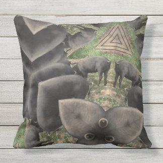 Almofada Travesseiro decorativo prismático de Berkshire