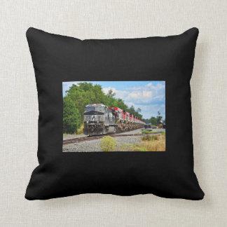 Almofada Travesseiro decorativo projetado do trem