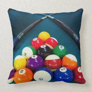 Almofada Travesseiro decorativo quadrado das bolas de
