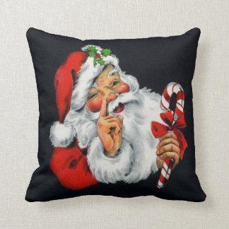 Almofada Travesseiro decorativo retro do quadrado do Natal