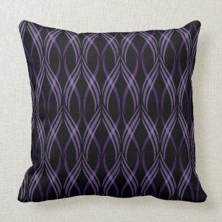 Almofada Travesseiro decorativo reversível das fitas da
