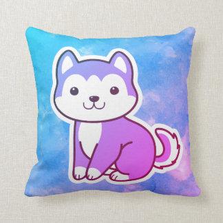 Almofada Travesseiro decorativo ronco colorido do cão de