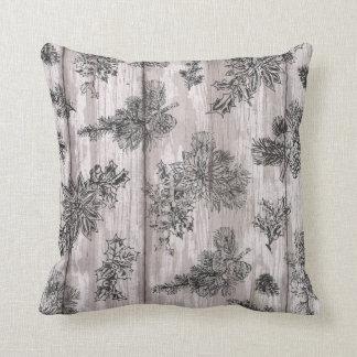 Almofada travesseiro decorativo rústico do feriado da