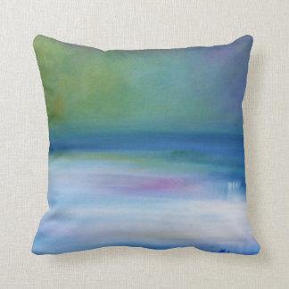 Almofada Travesseiro decorativo silencioso do abstrato do