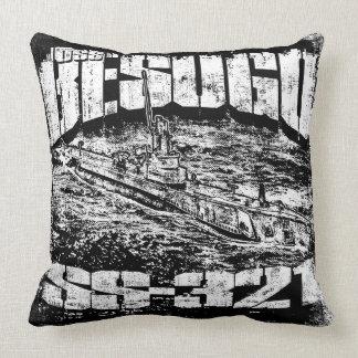 Almofada Travesseiro decorativo submarino de Besugo