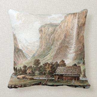 Almofada Travesseiro decorativo suíço do rio da cabine da
