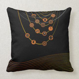 """Almofada Travesseiro decorativo tribal 20"""" dos símbolos x"""