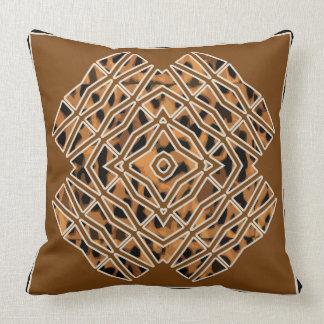 "Almofada Travesseiro decorativo tribal 20"" x 20"""