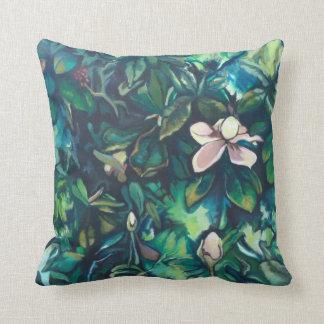 Almofada Travesseiro decorativo tropical do algodão do