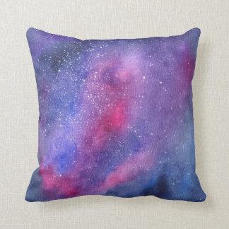 Almofada Travesseiro decorativo ultravioleta da galáxia