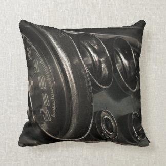 Almofada Travesseiro decorativo velho do Fim-acima do