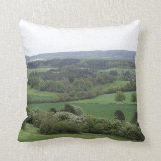 Almofada Travesseiro decorativo verde e agradável da terra