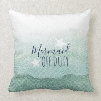 Almofada Travesseiro decorativo verde fora de serviço da