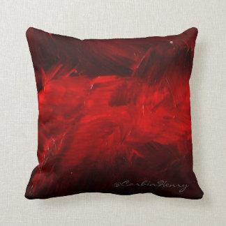 Almofada Travesseiro decorativo vermelho escuro