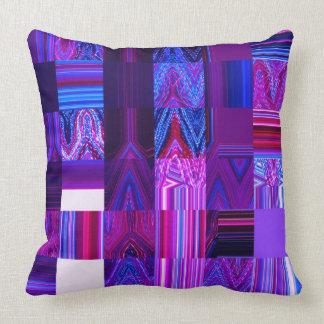 """Almofada Travesseiro decorativo violeta 20"""" do algodão de"""