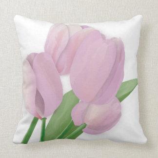 Almofada Travesseiro decorativo violeta do buquê das