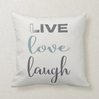 Almofada Travesseiro decorativo vivo da tipografia | do