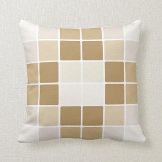Almofada Travesseiro digital elegante dos cubos