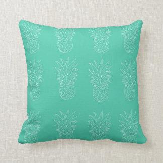 Almofada Travesseiro do abacaxi da cerceta
