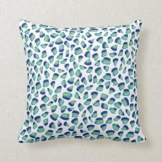 Almofada Travesseiro do acento do verde esmeralda do