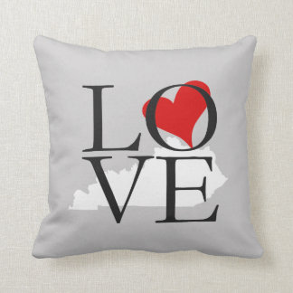 Almofada Travesseiro do amor do estado de Kentucky