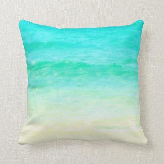 Almofada Travesseiro do Aqua da água do oceano