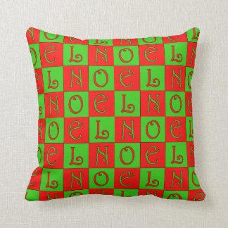 Almofada Travesseiro do bloco de Noel