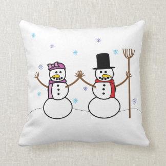Almofada Travesseiro do boneco de neve