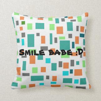 Almofada Travesseiro do borracho do sorriso