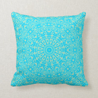 Almofada Travesseiro do caleidoscópio dos azuis de bebê