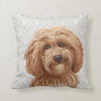 Almofada Travesseiro do cão de Labradoodle/amor de