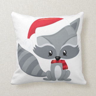 Almofada Travesseiro do caráter da floresta do Natal