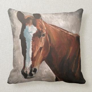 Almofada Travesseiro do cavalo da azeda do rancho da casa