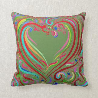 Almofada Travesseiro do coração do desenhista por Leslie