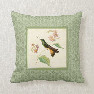 Almofada Travesseiro do damasco do colibri de Starfrontlet