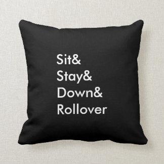 Almofada Travesseiro do derrubamento de Sit& Stay& Down&