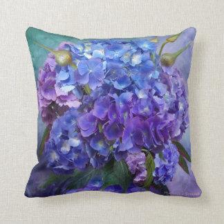 Almofada Travesseiro do desenhista da arte do Hydrangea