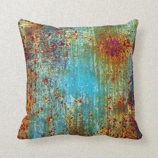 Almofada Travesseiro do desenhista da oxidação de turquesa