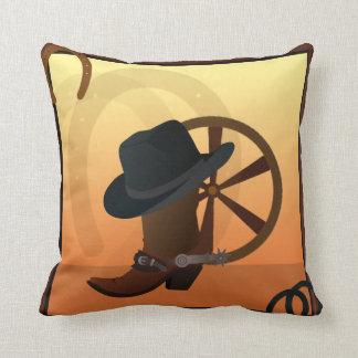 Almofada Travesseiro do design da bota de vaqueiro