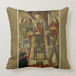 Almofada Travesseiro do Diácono-Mártir do St. Vincent