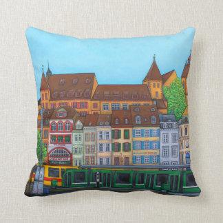 Almofada Travesseiro do encontro de Barfüsserplatz por Lisa