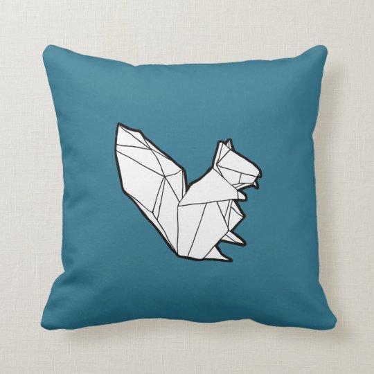 Almofada Travesseiro do esquilo de Origami