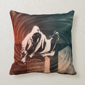 Almofada Travesseiro do fantasma do Dia das Bruxas